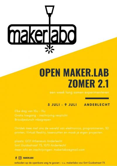 Open Maker. Lab Zomer 2.1