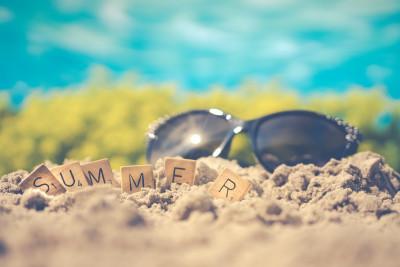 De bib in de zomermaanden