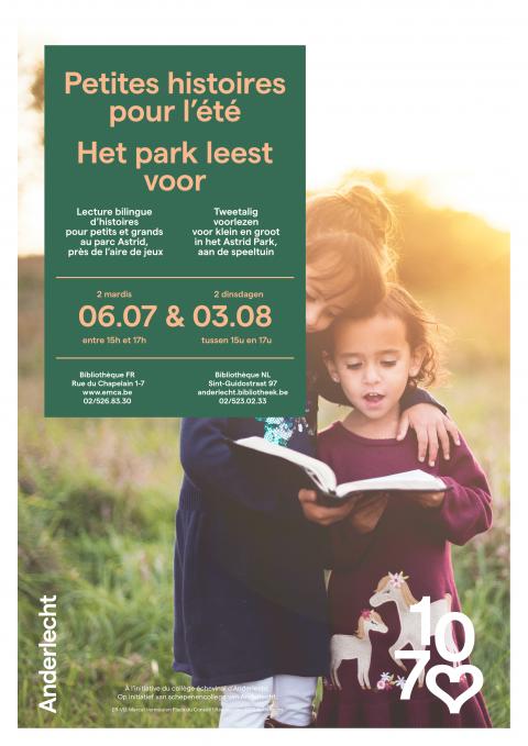 het park leest voor